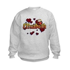 first name Elisabeth ! for i graffiti style Sweats