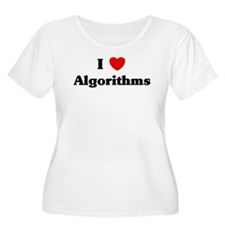 I Love Algorithms T-Shirt