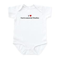 I Love Environmental Studies Infant Bodysuit