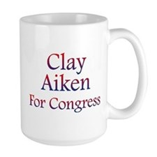 Clay Aiken for Congress Mug