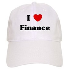 I Love Finance Baseball Cap