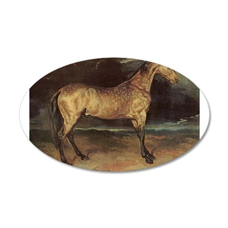 Horse in the Storm Wall Decal