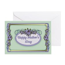 Pansy Floral - Mother's Day Greeting Card