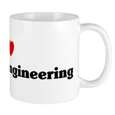 I Love Electrical engineering Mug