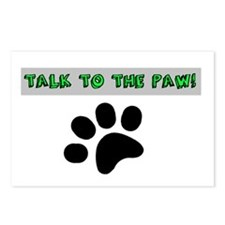 TALK TO THE PAW! Postcards (Package of 8)