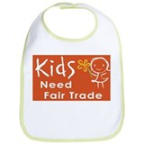 """Fair Trade Kids"" Bib"