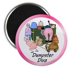 Dumpster Diva Magnet