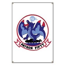 VP 50 Blue Dragons Banner