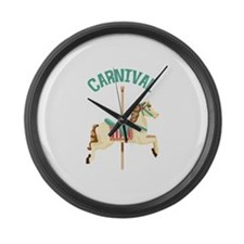 Carnival Large Wall Clock