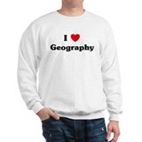 I Love Geography Jumper