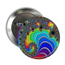 "Fractal R~16 - 2.25"" Button (10 pack)"