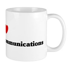 I Love interpersonal communic Mug