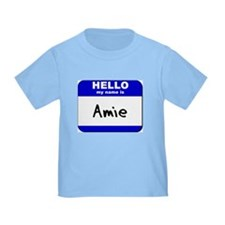 hello my name is amie T
