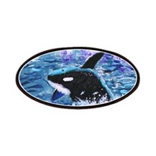 Killer Whale Painting Patches