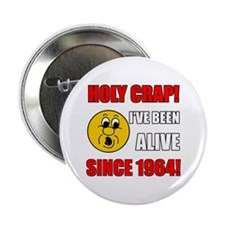 "1964 Holy Crap 2.25"" Button (10 pack)"