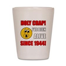 1944 Holy Crap Shot Glass