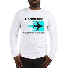 Chem Gov Health - Black Long Sleeve T-Shirt