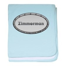 Zimmerman Metal Oval baby blanket