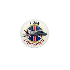RAF F-35B Lightning II Mini Button (10 pack)