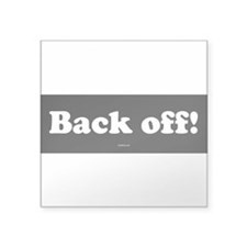 back-off.psd Sticker