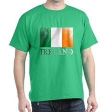 IRELAND Distressed Flag T-Shirt