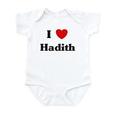 I Love Hadith Infant Bodysuit