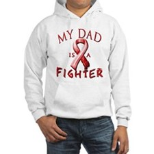 My Dad Is A Fighter Red Hoodie