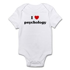 I Love psychology Infant Bodysuit