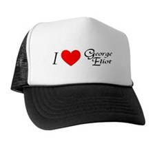 I Love George Eliot Trucker Hat