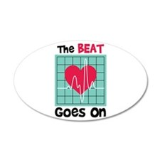The Beat Goes On Wall Decal