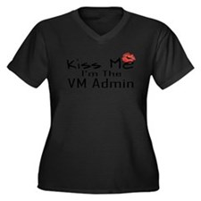 10x10_kissme_vmadmin_white Plus Size T-Shirt