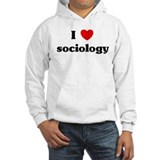 I Love sociology Jumper Hoody