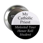 Catholic Priest Button