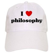 I Love philosophy Cap