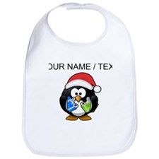 Custom Santa Claus Penguin Bib