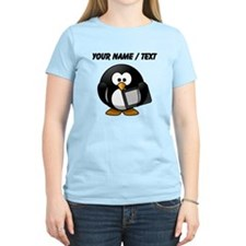 Custom Tablet Penguin T-Shirt