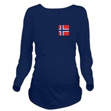 Team Cross Country N Long Sleeve Maternity T-Shirt