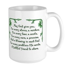 Shamrock Bouquet Mug