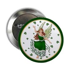 Irish Shamrock Magic Button
