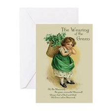 Wearing of the Green Greeting Cards (Pk of 10)