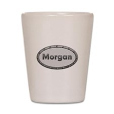 Morgan Metal Oval Shot Glass