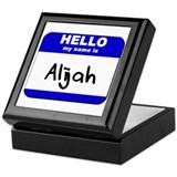 hello my name is alijah Keepsake Box