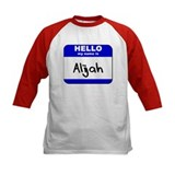 hello my name is alijah Tee