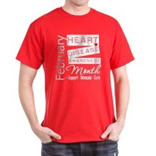 Support Heart Disease Awareness Month T-Shirt