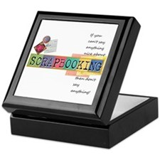 I love scrapbooking Keepsake Box