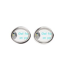 Owl fart on you! Cufflinks