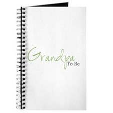 Grandpa To Be (Green Script) Journal