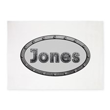 Jones Metal Oval 5'x7'Area Rug