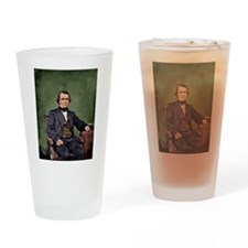 Andrew Johnson Drinking Glass