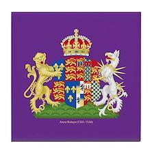 Anne Boleyn Coat of Arms Tile Coaster